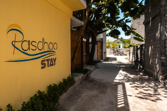RASDHOO STAY - guest house/piccolo hotel - Rasdhoo local Island